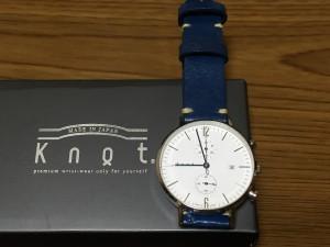 カスタマイズできる腕時計「knot」