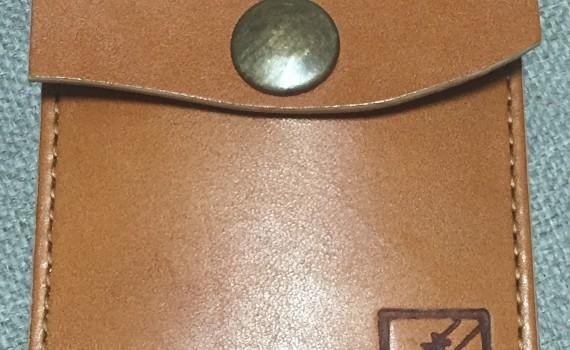 工房壱 ヌメ革携帯灰皿